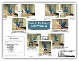 Chair Exercises For Seniors 9 Best Photos Of Chair Gym Exercise Printable Chair Exercise