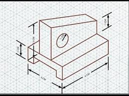 isometric drawing exercise 17 youtube