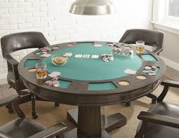 Poker Table Pedestal Classic Game Tables You U0027ll Love Wayfair