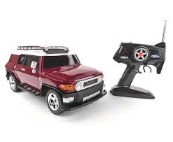 toyota car and remotes item toyota fj cruiser rtr rc electric car scale 1 10th