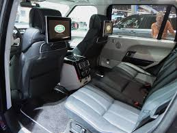 land rover autobiography land rover range rover autobiography lwb rear seat photo on