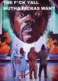 Samuel L Jackson Memes - samuel l jackson feat the wizard of oz alternate universe know
