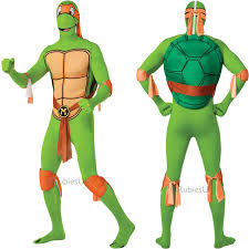 Michelangelo Ninja Turtle Halloween Costume Tmnt Teenage Mutant Ninja Turtles 2nd Skin Fancy Dress