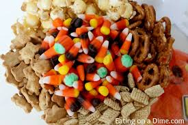 kid friendly halloween snack mix eating on a dime
