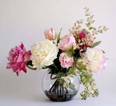 flowers arrangements beautiful artificial silk flowers arrangements for home decoration