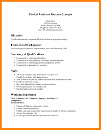 Skills For Acting Resume Clerical Assistant Resume Resume For Your Job Application