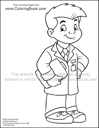 kid doctor free coloring page wayne bell flickr