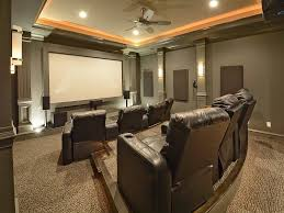 building home theater traditional home theater with high ceiling u0026 ceiling fan in