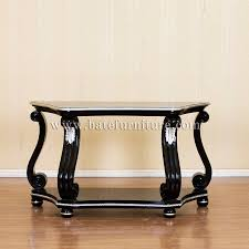 Wall Tables Black Wall Table Indonesian French Furniture Teak Outdoor