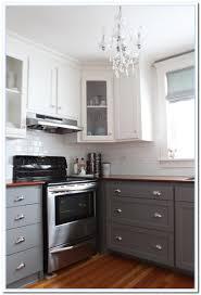 kitchen ideas two tone cabinets interior design