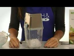bed bath and beyond ice maker metrokane retro ice crusher machine at bed bath beyond youtube
