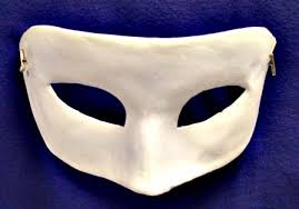 unpainted masks plain venetian eye mask