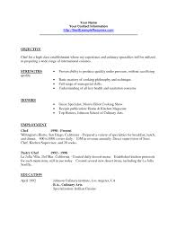 Sous Chef Resume Professional Chef Resume Example Image Result For Sample Head