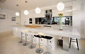 modern kitchens with islands modern kitchen island with seating decorating clear