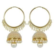 gold earrings for women images earrings online upto 80 on designer earrings jhumka gold