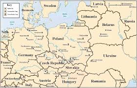 Map Of East United States by Maps Map Of Europe During The Holocaust