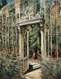 Palm House Botanical Gardens Gerard S Painting In Government Collection Gerard
