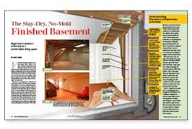 basement vapor barrier or not the no mold finished basement fine homebuilding