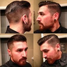360 view of mens hair cut haircut mustaches and beard grooming pinterest haircuts