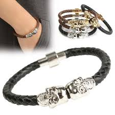 chain bracelet with leather images Bracelet at banggood sold out jpg