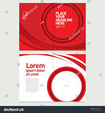 brochure cover inner pages design template stock vector 322673492