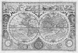 Accurate World Map by Sir Francis Drake