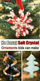 fast salt ornaments no borax needed