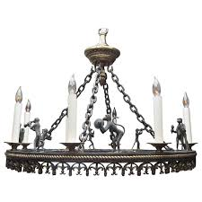 Maitland Smith Lamp Shades by Bronze Monkey Band Chandelier By Maitland Smith At 1stdibs