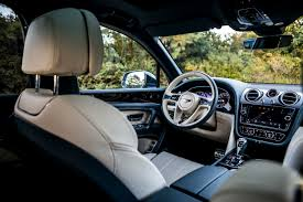 2017 bentley bentayga interior driven bentley bentayga 6 0 w12