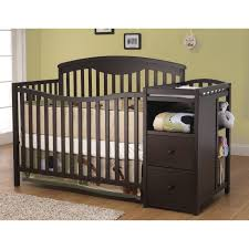 Convertible Cribs With Changing Table And Drawers Nursery Decors Furnitures Graco 4 In 1 Convertible Crib
