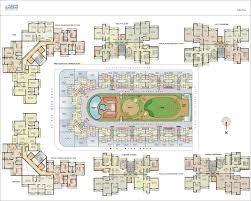 High Rise Floor Plans by Kesar Gardens Mumbai Discuss Rate Review Comment Floor Plan