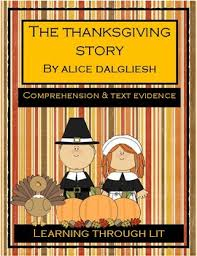 the thanksgiving story by dalgliesh comprehension text