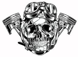 graphics for skull and piston graphics graphicsbuzz com
