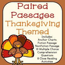 thanksgiving reading teaching resources teachers pay teachers
