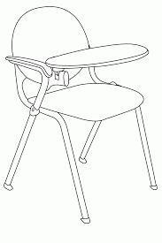 classroom objects coloring pages coloring home