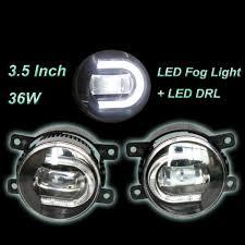 3 inch fog light kit universal 3 5 inch c shape led drl fog light kit jabsport
