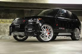 range rover black rims range rover rides magazine