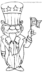 new year u0026 4th of july color page coloring pages for kids