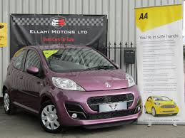 2nd hand peugeot used peugeot 107 cars for sale motors co uk