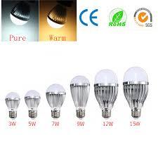 heat generating light bulbs e27 3w 5w 7w 9w 12w 15w led edison globe light bulb non dimmable