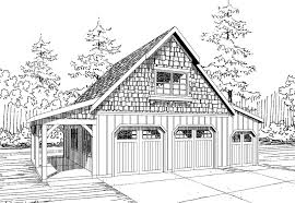 2 Car Detached Garage Plans Apartments 4 Car Garage Plans With Apartment Above The Detached