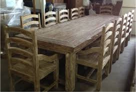 12 chair dining table teak driftwood style dining table with 12 chairs large wood table