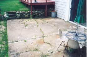 How To Cover A Concrete Patio With Pavers Ideas To Cover Concrete Patio Outdoor Goods