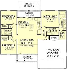 1300 square foot house plans southern ranch home 3 bedrooms 1300 sq ft house plan 142
