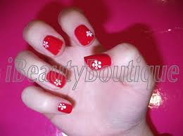 quick and easy daisy flower nail art ibeautyboutique youtube
