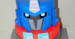 optimus prime cakes salt cake city optimus prime transformer birthday cake