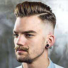 skin fade comb over hairstyle men s skin fade pompadour hairstyles for 2016 men s hairstyles