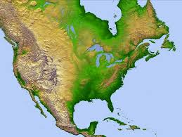 america map of rivers america with rivers and lakes included