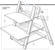 how to build a standing desk decorative desk decoration
