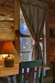 Country Rustic Curtains Best 25 Cabin Curtains Ideas On Pinterest Farm Curtains